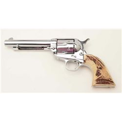 "Colt SAA revolver, .45 caliber, 5.5"" barrel,  S/N 278902, in overall good condition as  restored wit"