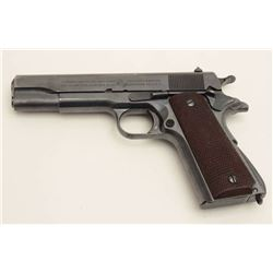 United States Property-marked Colt Model  1911A-1 Transition Model semi-automatic  pistol, .45 calib