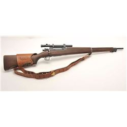 "U.S. Springfield A4 bolt action rifle, .30-06  caliber, 24.5"" R.A. barrel dated 2-44,  military fini"