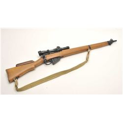 "British Enfield No. 4 MK II bolt action  rifle, .303 caliber, 25"" barrel,  import-marked, military f"