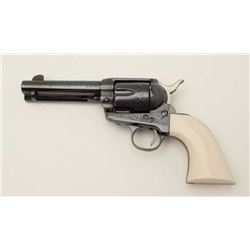 "EMF Model Great Western II Single Action  revolver, engraved, .45LC caliber, 4.75""  barrel, blued fi"