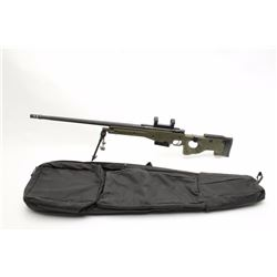 "Accuracy International England bolt action  sniper rifle, .300 Win. Mag. caliber, 29""  fluted barrel"