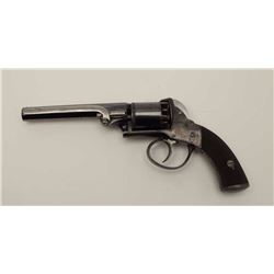 "Double Action English revolver marked ""No.  3367"" on right side of frame with no other  markers exce"