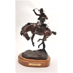 "Original bronze entitled ""Top Centered"" with  Certificate of Authenticity, #30/50; by James  Phillip"