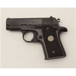 "Colt MK IV/Series 80 Mustang Model  semi-automatic pistol, .380 Auto caliber,  2.75"" barrel, steel f"