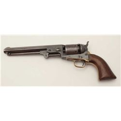 Colt Model 1851 .36 caliber percussion  revolver, early small guard, S/N 5915, all  visible numbers