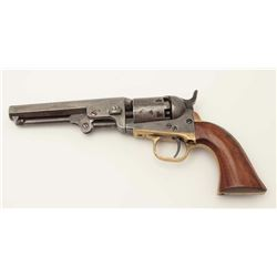 "Colt Pocket Model 1849 percussion revolver,  .31 caliber, 5"" barrel, one-line N.Y.  address, 6-shot"
