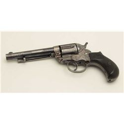 Colt Model 1877 Thunderer revolver, .41  caliber, serial #64759.  The pistol is in  good overall con