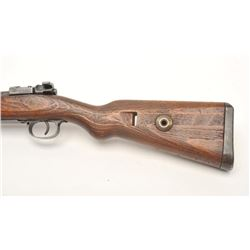 Oberndorf Mauser Model Gewehr 98 bolt action  rifle, 8mm Mauser caliber, serial #4074B.   The rifle