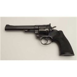 "Colt Trooper MK III Model DA revolver, .357  Magnum caliber, 6"" barrel, blued finish,  checkered har"