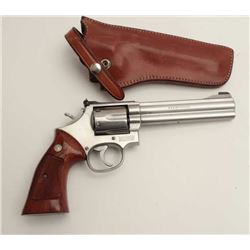 Smith and Wesson Model 686 revolver, .357  Magnum caliber, serial #AAJ2719.  The pistol  is in very