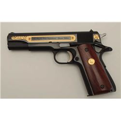 Colt Series 70, .45 ACP caliber Government  Model, in L.A.P.D. Special Edition Series,  S/N 59475B70
