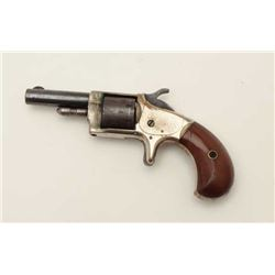 Monitor by Whitneyville .22 caliber spur  trigger revolver, non-fluted cylinder, blue  and nickel fi
