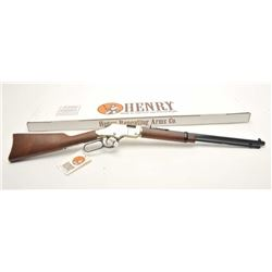 "Henry Repeating Arms Golden Boy Model lever  action rifle, .22LR caliber, 20"" octagon  barrel, black"