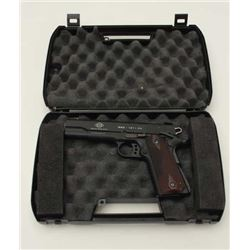 "GSG (German Sport Guns) Model 1911 CA  semi-automatic pistol, .22LR HV, 5"" barrel,  mat black finish"