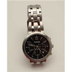 Ferrari Chronograph stainless wristwatch,  #44-1316, authentic; near fine used condition  and runnin