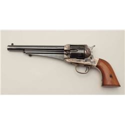 Remington style 1875 single action made by  Uberti in .45 L.C. caliber with blue and case  hardened