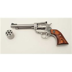 "Ruger New Model Single Six revolver, .22  caliber with extra .22 Win. Mag. cylinder,  5.5"" barrel, s"