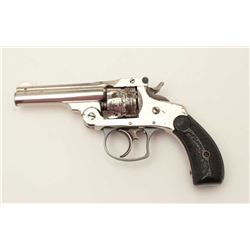 Smith & Wesson top break DA revolver, .32  caliber, early production, S/N 3918 with rare  original f