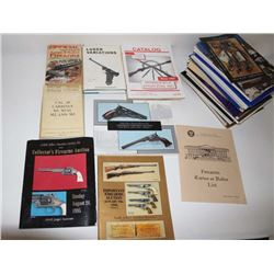 "Lot of misc. gun-related books and Digests  including ""Luger Variations; Vol. I"" by Harry  Jones and"