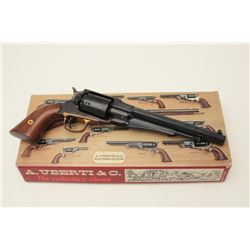 "Uberti replica of a Remington Model 1858  percussion revolver, .44 caliber, 8"" octagon  barrel, blue"