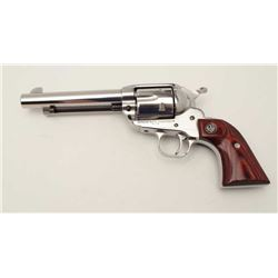 Ruger New Vaquero Single Action revolver, .45  caliber, with extra .45 ACP cylinder and  misc. small