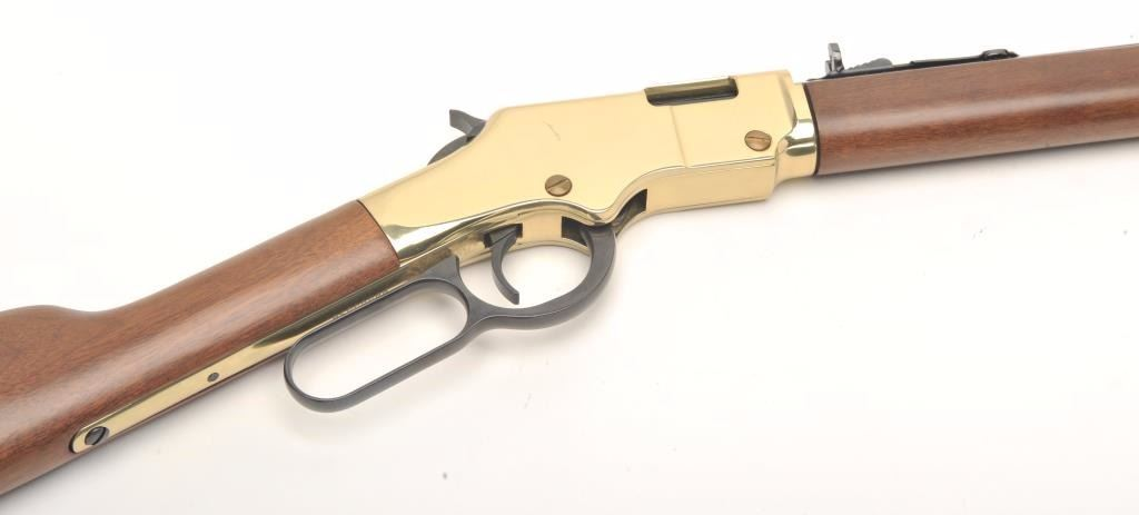 Henry Arms Golden Boy Lever Action Rifle 22 L R Caliber Serial