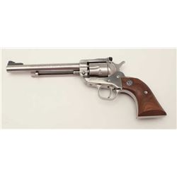 "Ruger New Model Single Six revolver, .22  caliber with extra .22 Win. Mag. cylinder,  6.5"" barrel, s"