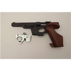 "Walther Model GSP 32 semi-automatic target  pistol, .32 S&W long caliber, 6"" barrel, no  magazine, m"
