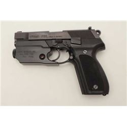 "Walther Model P88 DA semi-automatic pistol,  9mm caliber, 4"" barrel, blued finish,  checkered black"