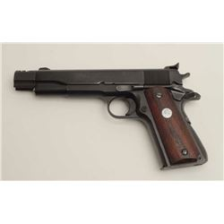 Essex Arms Corp. frame with Colt slide and  barrel assembly, custom .45 caliber  semi-automatic targ