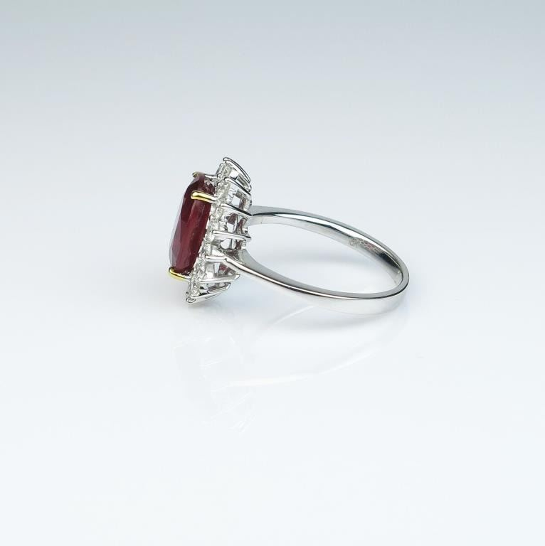 exquisite princess diana style ring featuring a