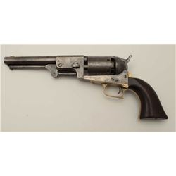Colt 2nd Model Dragoon with rare New  Hampshire marking on the left forward portion  of the barrel,