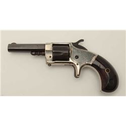"Whitneyville rare .30 caliber spur trigger  revolver, 2.5"" octagon barrel, blued and  nickel finish,"