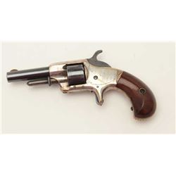 "Whitneyville .22 caliber spurt trigger  revolver, 2.5"" round barrel, blue and silver  finish, short,"
