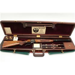 "Ruger No. 1 rifle, special exhibition grade,  .45-100 caliber, 2.6"" case, 22"" barrel,  serial #133-5"