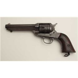 "Remington Model 1888 revolver, S/N 572  (barrel #287), in 44/40 caliber, 5.75""  barrel, blued finish"