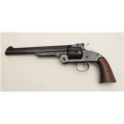 Smith & Wesson First Model American single  action top break revolver, .44 caliber, .44  American ca
