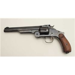 Smith & Wesson Model 3 Commercial Russian  Model single action top break revolver, .44  caliber, 7""