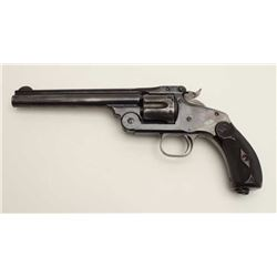 "Smith & Wesson New Model #3 single action top  break revolver, .38 caliber, 6.5"" barrel,  blued fini"