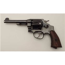 United States Property-marked, British  proofed Smith & Wesson Model 1917 Army DA  revolver, .45 cal