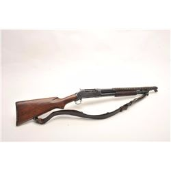 Winchester Model 97 pump action shotgun  converted to trench gun (no flaming bomb or  U.S. markings