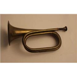 Indian War era U.S. Pattern brass bugle in  very good condition.    Est.:  $100-$200.
