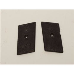 Pair of original grips for Colibri mini auto  pistol in good condition. Est.: $100-$200