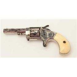 """Whitneyville rare .30 caliber, 2.5"""" octagon  barrel, nickel finish, ivory grips, S/N 11,  overall ve"""