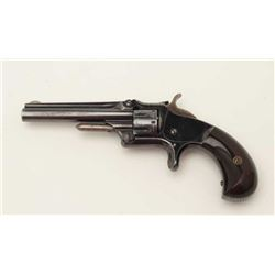 "Smith & Wesson Model 1 3rd Issue spur trigger  revolver, .22 caliber, 3.25"" barrel, blued  finish, r"
