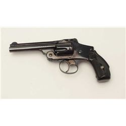 "Smith & Wesson 4th Model New Departure DA  revolver, .38 caliber, 4"" barrel, blued  finish, checkere"