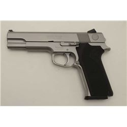 Smith & Wesson Model 4546, .45 ACP caliber  double action semi-auto in stainless steel  with box mar