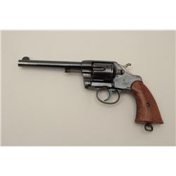 Colt Model 1901 U.S. Military issue .38 L.C.  caliber revolver, S/N 198316. Inspected by  Rinaldo A.