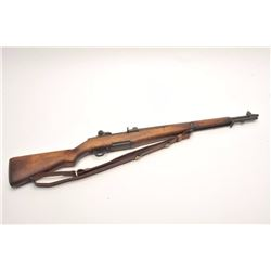 M1 Garand .30 caliber U.S. military issue  rifle by Springfield Armory, S/N 305146.  Reconditioned a